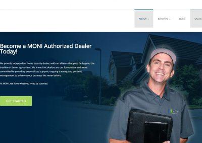 Press Release for Monitronics Dealer Program