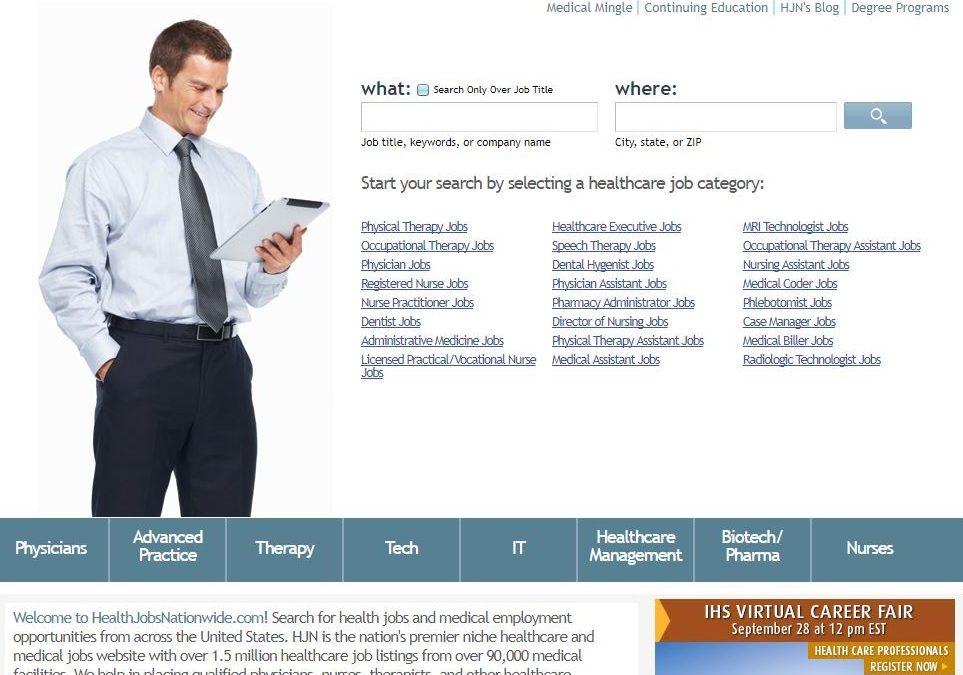 CASE STUDY: Health Jobs Nationwide